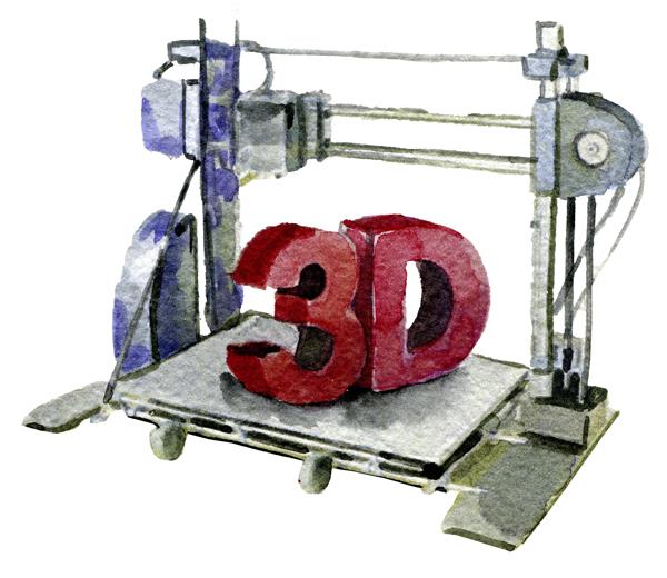 Компьютерное моделирование и печать на 3Д принтере